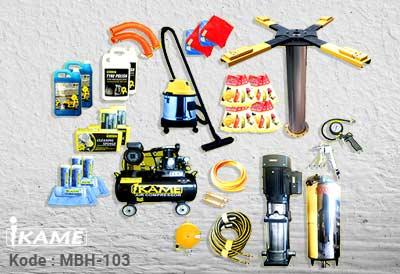 "Paket Cuci Mobil ""1 Hidrolik"" – MBH 103"