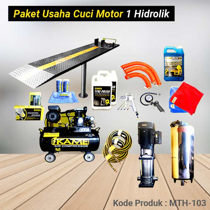 Paket Cuci Motor 1 Hidrolik – MTH 103