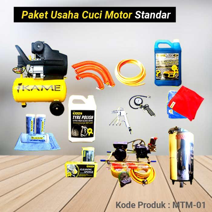 Paket Peralatan Usaha Cuci Motor Standart – MTM 01