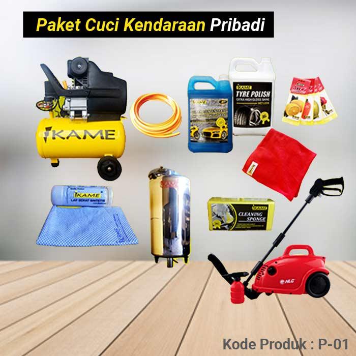 Paket Alat Cuci Mobil / Motor Pribadi P-01