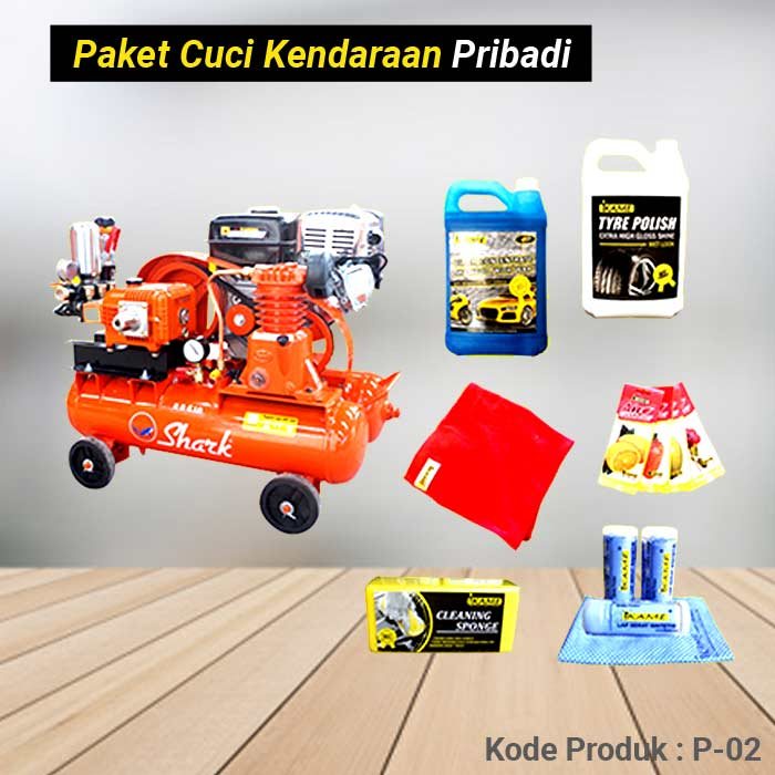 Paket Alat Cuci Mobil / Motor Pribadi P-02