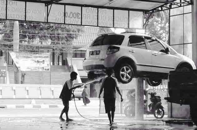 Cuci Kendaraan Mobil dan Motor