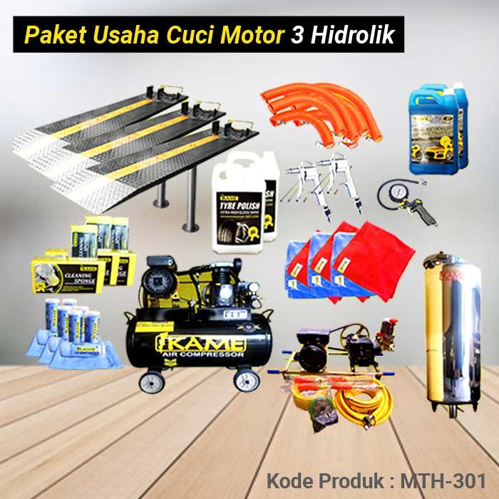 Paket Cuci Motor 3 Hidrolik – MTH 301