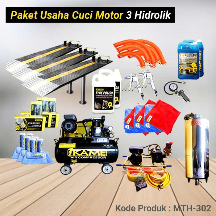 Paket Cuci Motor 3 Hidrolik – MTH 302