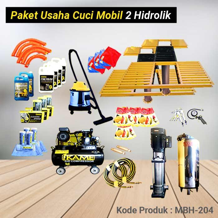 Paket Cuci Mobil 2 Hidrolik Type-H – MBH 204