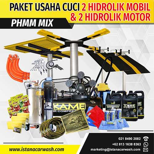 Paket Cuci Hidrolik Mix 2 Mobil dan 2 Motor – PHMM 112