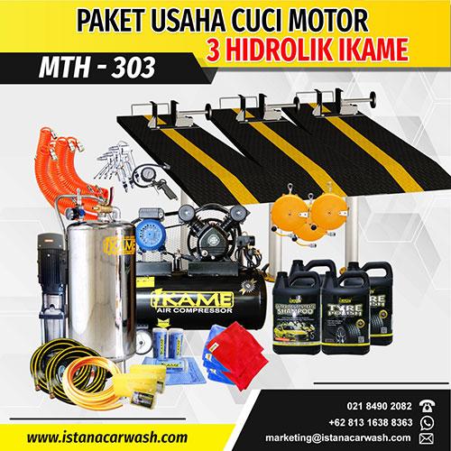 Jual Paket Cuci Motor 3 Hidrolik Wa 0858 5900 2666