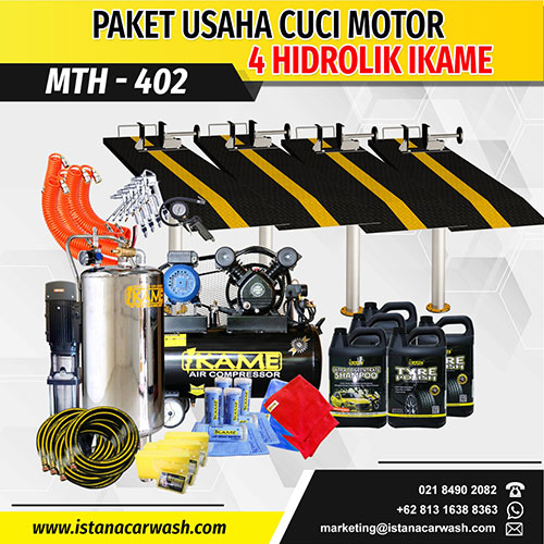 Paket Cuci Motor 4 Hidrolik – MTH 402