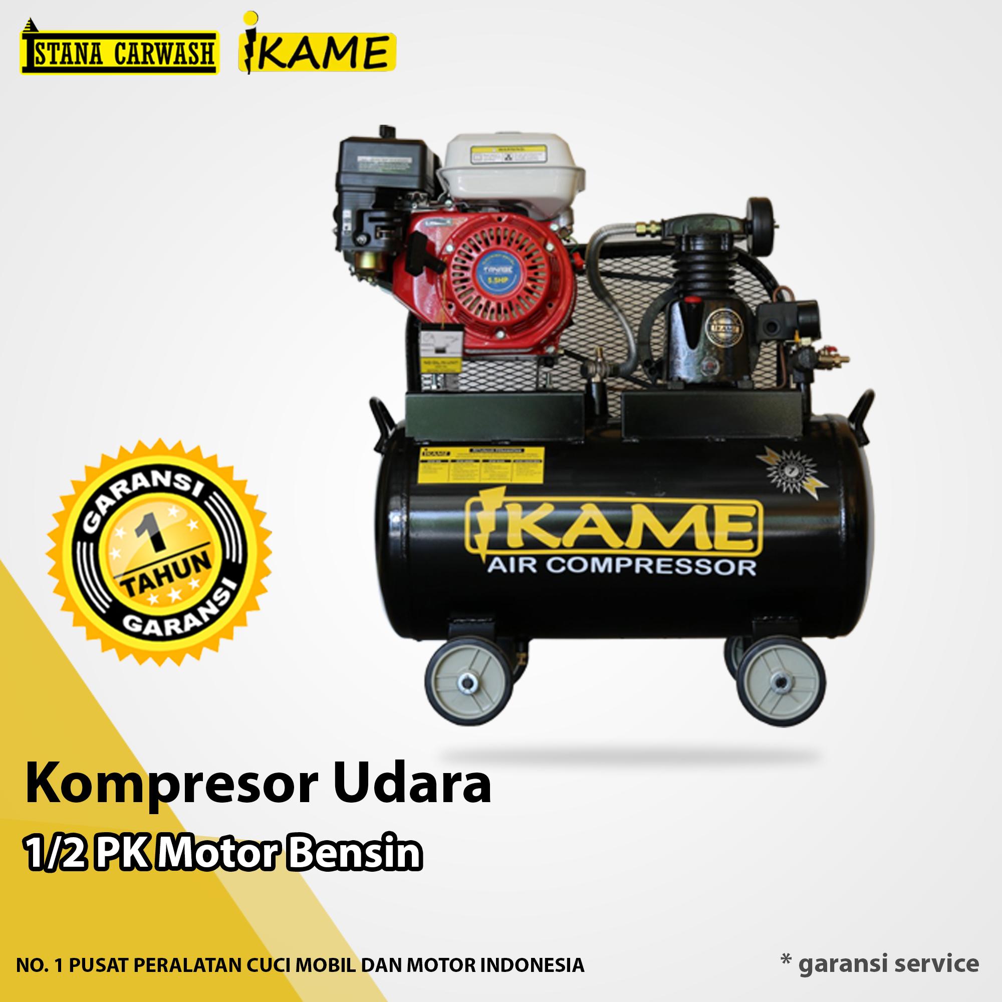 Kompresor Udara Ikame 1/2 Pk Motor Bensin