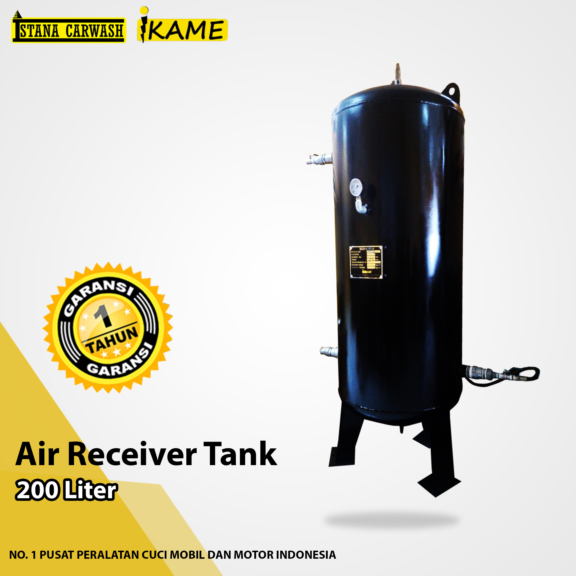 Air Receiver Tank 200 Liter