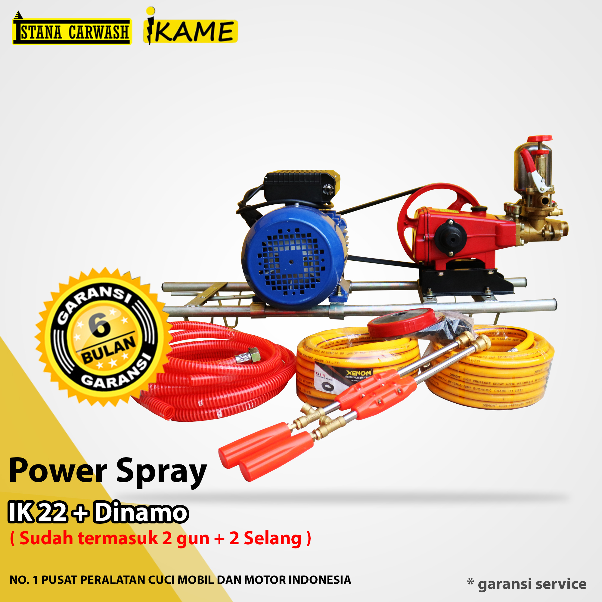 Power Spray Ikame Ik 22 + Dinamo