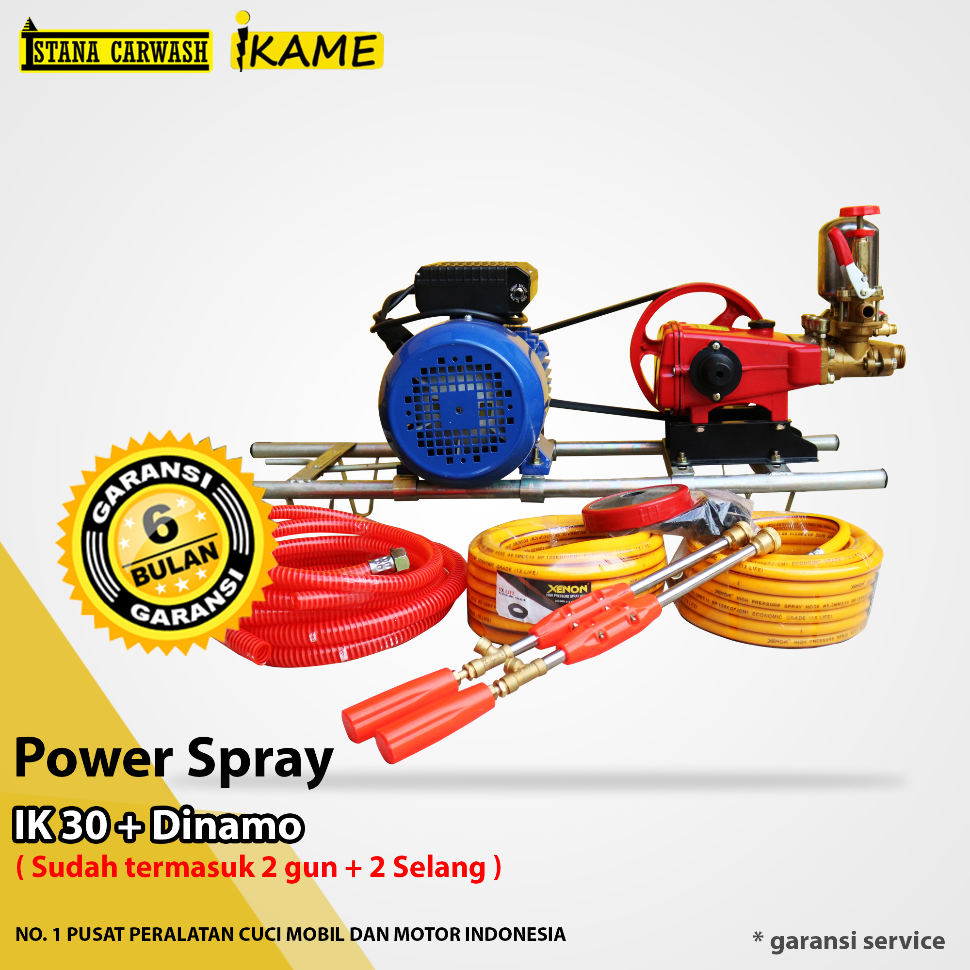 Power Spray Ikame IK 30 + Dinamo