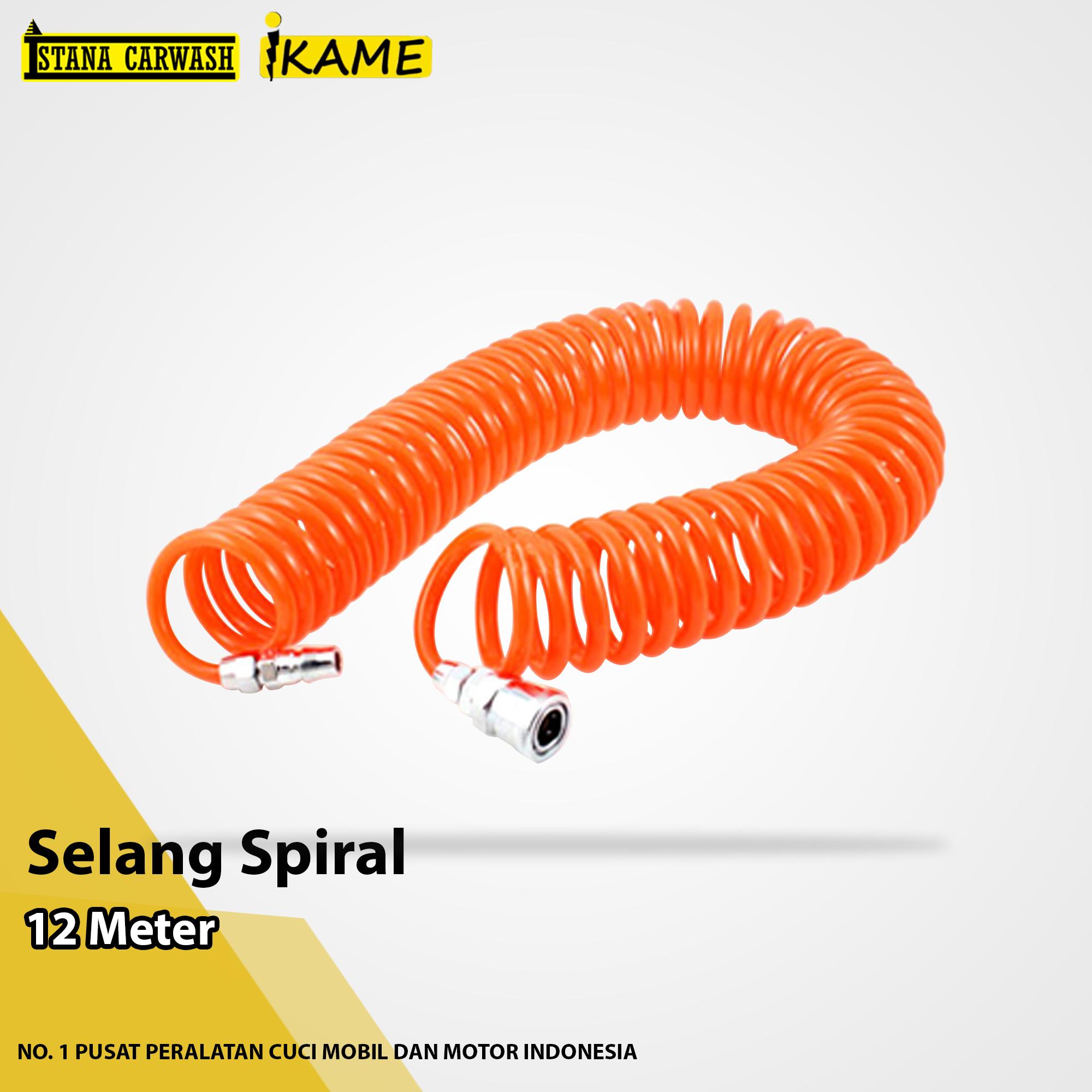 Selang Spiral (panjang 12 meter)