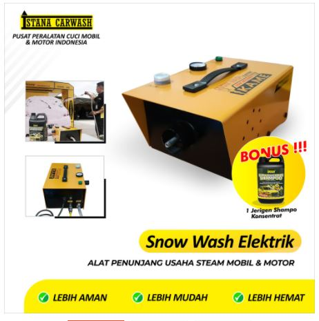 Snow Wash Elektrik